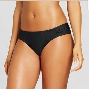 NWT Sea Angel black bikini bottoms XS S